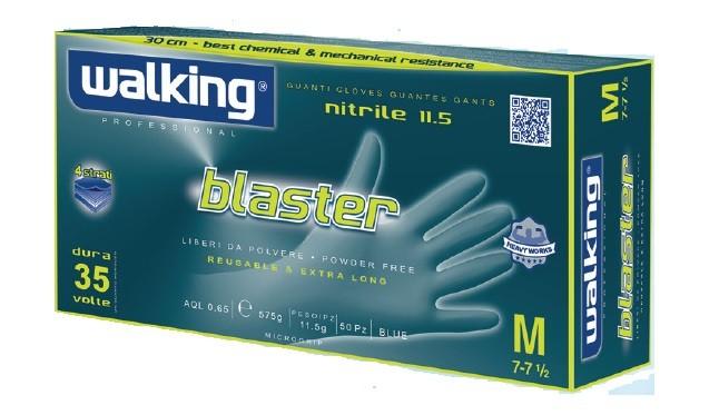 GUANTI BLASTER IN NITRILE GR.11.5 PZ.50