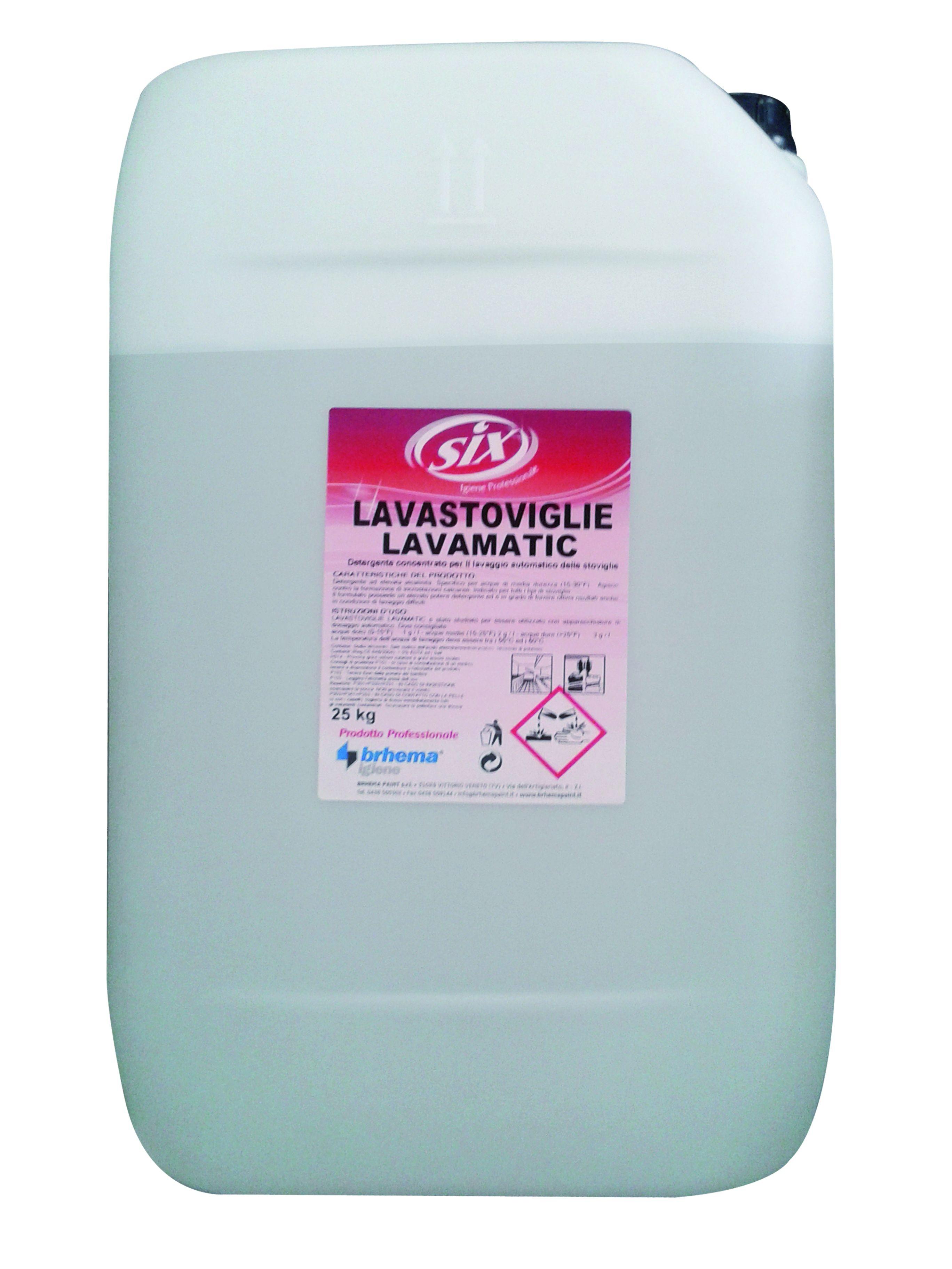 LAVASTOVIGLIE LAVAMATIC SIX KG.25