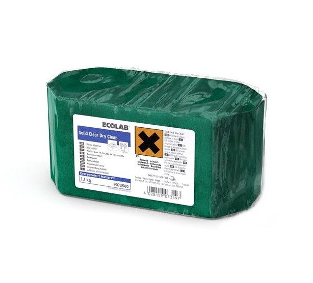 SOLID CLEAR DRY CLEAN - BRILLANTANTE KG.1.1 ECOLAB