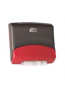 TORK W4 - DISPENSER QUICKDRY NERO ROSSO