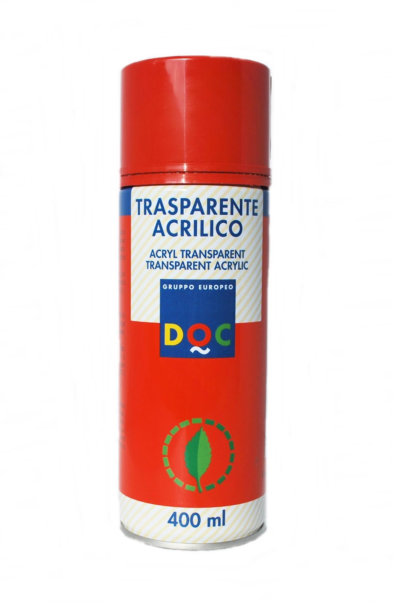 ACRYLSPRAY VERNICE TRASPARENTE LUCIDA/OPACA ML.400