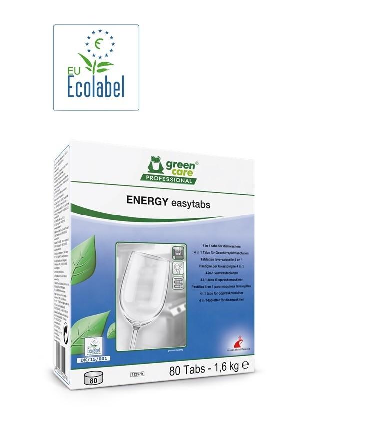 ENERGY EASYTABS LAVASTOVIGLIE PZ.80 - GREEN CARE