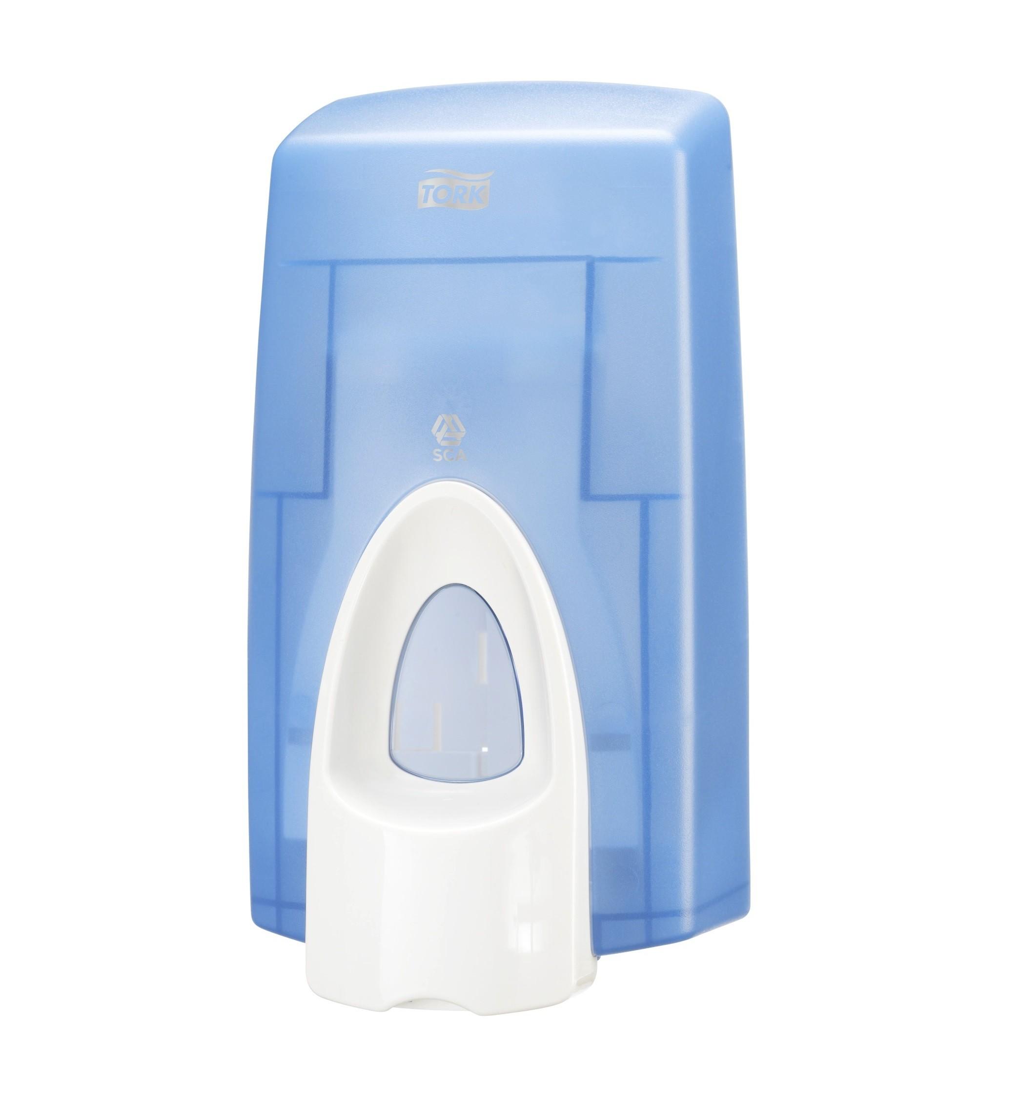 DISPENSER S34 TORK FOAM SOAP / MANUALE / BLU