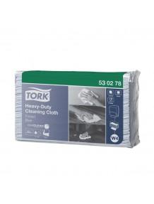 PANNI TNT 1V. TORK ULTRARESISTENTI PER PULIZIA INDUSTRIALE / 43X38 PZ.100X5 / BLU