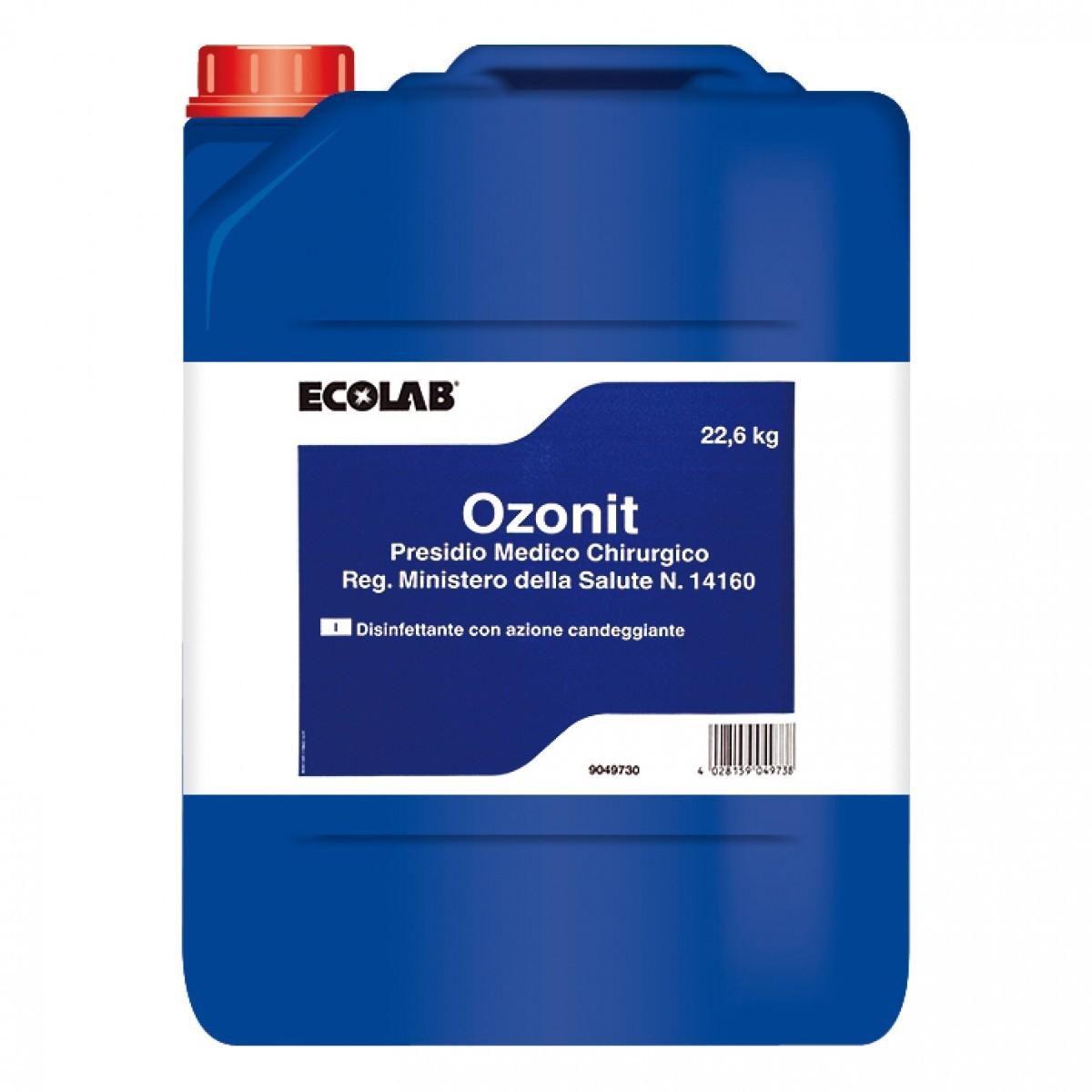 OZONIT P.M.C. DISINFETTANTE KG.22.6 ECOLAB
