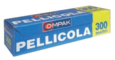 PELLICOLA PVC PER ALIMENTI MT.300/1500