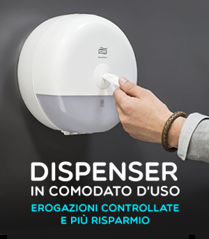 Dispenser in comodato d'uso